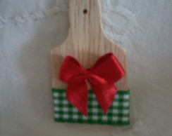 Mini T�volaro in legno Decorato