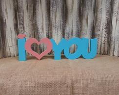 I Love You Cor. Vaz. - 1236v Duas Cores