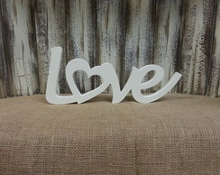Love Cora��o Vazado - 1332v Branco
