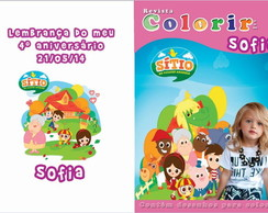 Revista Colorir - S�tio do pica pau amar