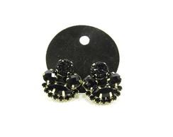 Brinco Preto e Caviar - Modelo Mini F