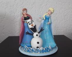 Topo de Bolo Frozen I
