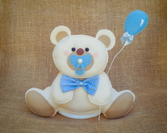 Topo de bolo Urso