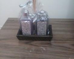 Kit Sabonete L�quido + Aromatizador B