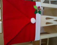 Capa Noel para cadeira