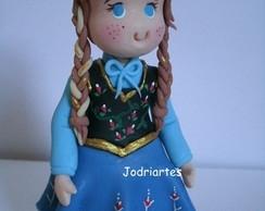 Topo de bolo da Ana do Frozen
