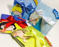 Convite Scrap - Princesas Disney