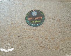 Topper 5cm - Festa Disco