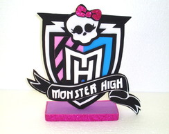 Placa Logo Monster High