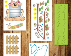 Kit Quarto Infantil-001 - Dog