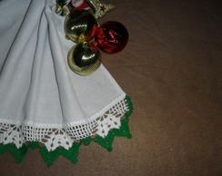 CROCH� N1 branco/verde