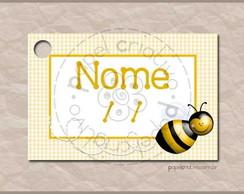 Tag Lembrancinha - bee happy