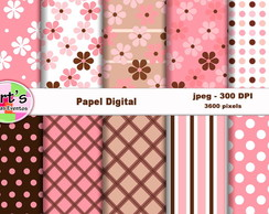 Kit Papel Digital Rosea et furva mod.2
