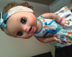 vestido baby alive