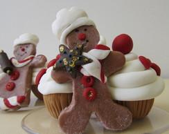 Lembrancinha ginger cupcake