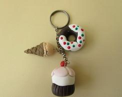 Chaveiro mini doces