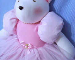 Ursinha Princesa 45 cm