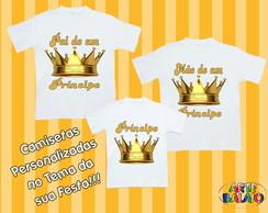 Camisetas Personalizadas Festa Principe