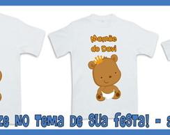 Camisetas Personalizadas Pr�ncipe Urso