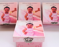 Caixa Personalizada princesa/bailarina