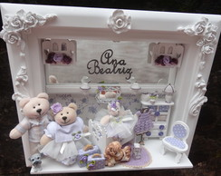 Quadro Maternidade Beb� Fam�lia Ursos P