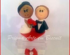 Lembrancinha de casal de noivos