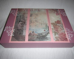 Caixa de Bijuteria Grande Veneza