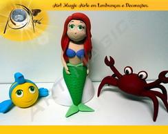 Pequena Sereia Ariel Cartunizada