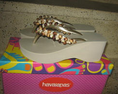 HAVAIANAS HIGH FASHION SEMENTE DE A�A�