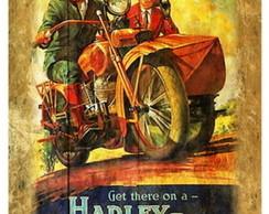 Placa Vintage - Get There on - ES8637