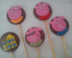 Pirulitos De Chocolate - Peppa Pig