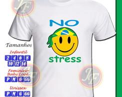 CAMISETA PERSONALIZADA NO STRESS