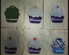 Mini ecobag Cupcake
