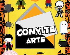 Convite (Arte) - Halloween Mini