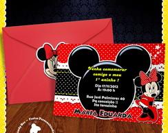 Convite personalizado Minnie