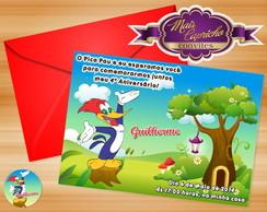 Convite Pica Pau