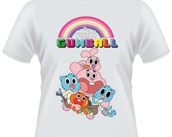 Camiseta O Incr�vel Mundo de Gumball 2