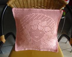 Almofada crochet