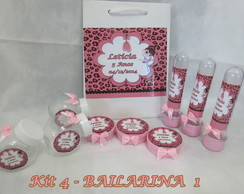 Kit Festa Bailarina 4 - 40 pe�as
