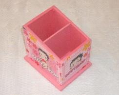Porta Controle Remoto Betty Boop (rosa)