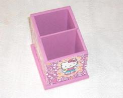 Porta Controle Remoto Hello Kitty lil�s