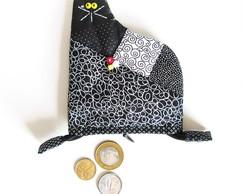 porta-moedas gatinho