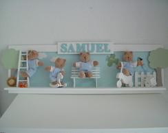 (MO 0105) Painel decorativo ursinhos