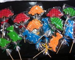 Biscoito decorado Dinossauros!!