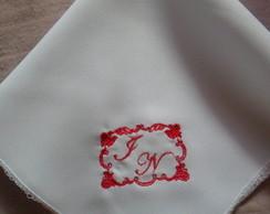 Guardanapo bordado personalizado