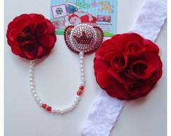 Kit Princesa Glamour Vermelho