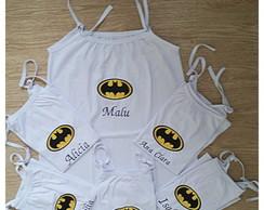Camisola infantil personalizada batgirl