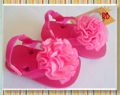 Chinelo Baby Flor