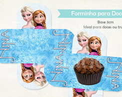 Forminha Doce - Frozen