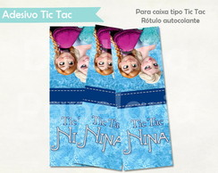 R�tulo T ic Tac - Frozen